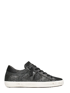 Philippe Model-Paris glitter leather Sneakers