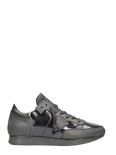 Philippe Model-Tropez Sculpte Metal Noir sneakers