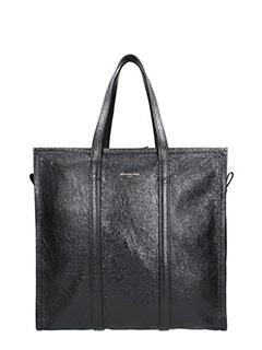Balenciaga-Borsa Bazar M in pelle nera