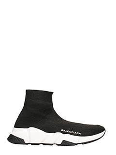 Balenciaga-Sneakers Speed sock in tessuto nero