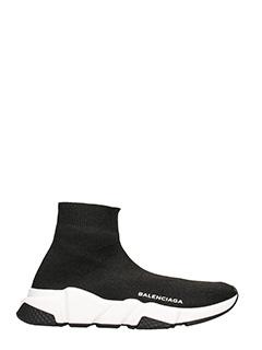 Balenciaga-Speed Round Toe Low Top Sneakers