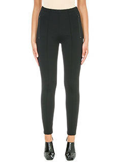 Balenciaga-Panta Leggings in viscosa nera