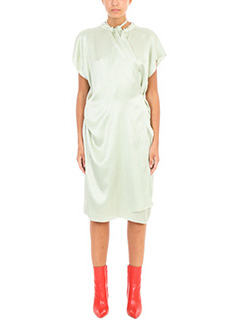 Balenciaga-Peignoir dress silk dress