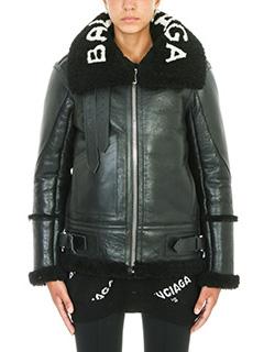 Balenciaga-Shearling Aviator Jacket