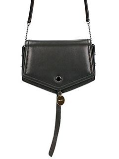 Jimmy Choo-Borsa Arrow in pelle nera