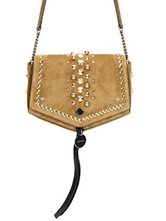 Jimmy Choo-Arrow Hazel Suede Cross Body Bag