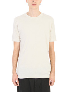 Damir Doma-T-shirt Tawni in cotone bianco