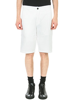 Department Five-Shorts Tim in cotone  bianco