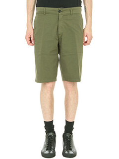 Department Five-Shorts Tim in cotone verde