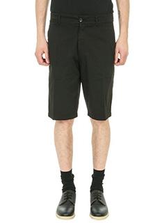 Department Five-Shorts Tim in cotone nero