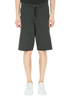 Department Five-Shorts Berco in cotone nero grigio
