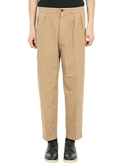 Department Five-Pantaloni pence in cotone beige