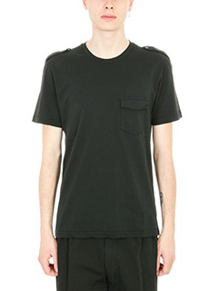 Department Five-T-shirt Itar in cotone nero