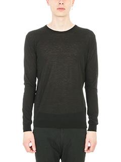 Department Five-Maglia Frio in lana nera