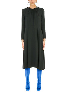 Balenciaga-Slide silk dress