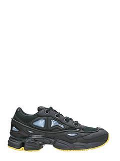 Adidas By Raf Simons-Sneakers Ozweego III in pelle nera