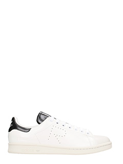 Adidas By Raf Simons-Sneakers Stan Smith in pelle bianca