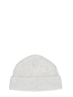 Lanvin-Cappello in lana grigia
