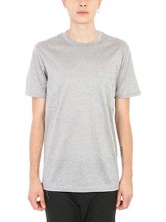 Lanvin-T-shirt Pocket in cotone grigio