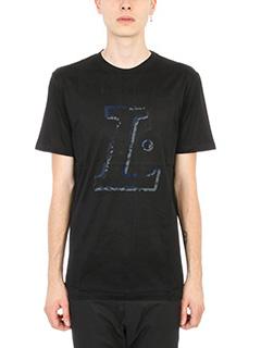 Lanvin-T-shirt L in cotone nero