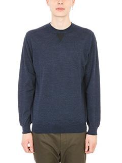 Lanvin-maglione in lana blu