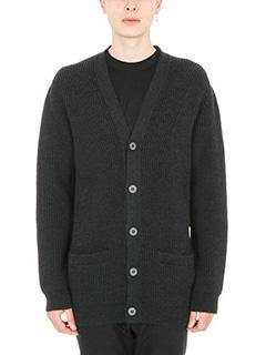 Lanvin-Cardigan in lana grigia