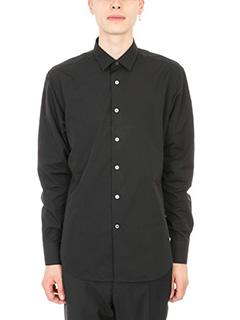 Lanvin-Camicia in cotone nero