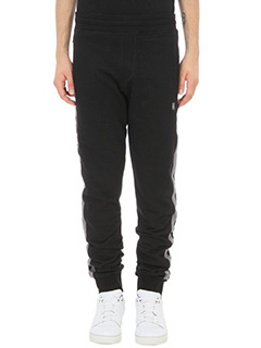 Lanvin-jersey black cotton pants