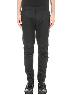 Lanvin-black cotton pants