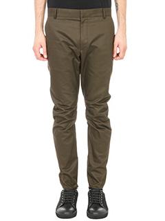 Lanvin-Pantalone in cotone Khaki