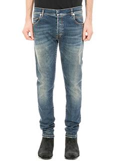 Balmain-blue denim jeans