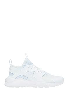 Nike-Sneakers Huarache in pelle e camoscio bianco