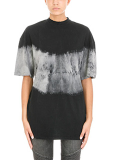Balmain-Oversized Tie and Dye t-shirt