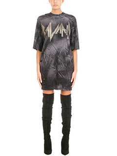 Balmain-Oversized distressed T-shirt