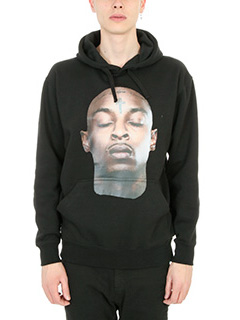 IH NOM UH NIT-Savage  black cotton sweatshirt