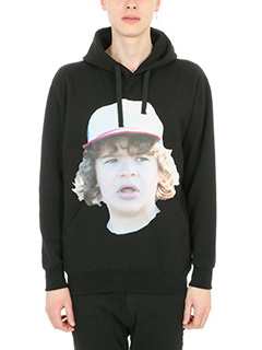 IH NOM UH NIT-Boggie  black cotton sweatshirt