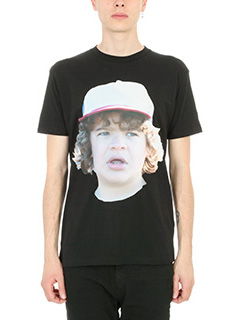 IH NOM UH NIT-T-shirt Boggie in cotone nero