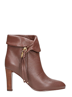 See by Chloé-Brown Leather Boots