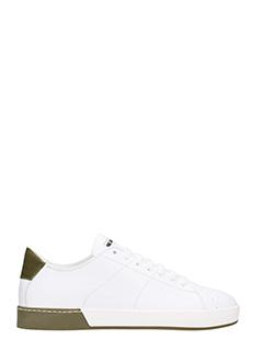 Jil Sander-Vit Soft sneakers