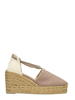 Castaner-Espadrillas Campina in canvas taupe