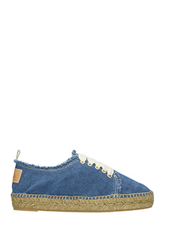 Castaner-Espadrillas Kosario  in canvas denim