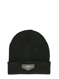 Givenchy-Cappello in lana nera
