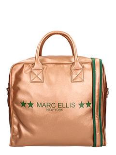 Marc Ellis-Borsa in tessuto bronzo