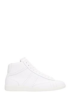 Maison Margiela-Sneakers Ace High in pelle bianca