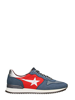 Golden Goose Deluxe Brand-sneakers Haus Bradfield in camoscio navy