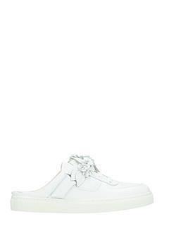 Sophia Webster-Sneakers Lilico Jessie in pelle bianca
