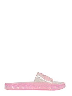 Puma Fenty-Jelly Slide in gomma rosa