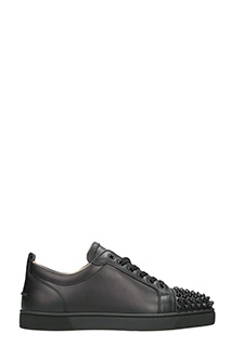 Christian Louboutin-Sneakers Louis Junior in pelle nera