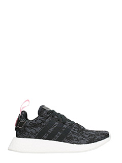 Adidas-Sneakers NMD R2 W in tessuto nero