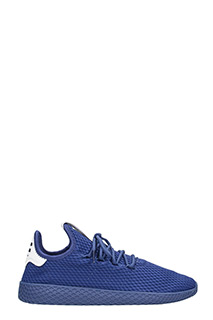 Adidas-Sneakers Pharrell Williams Tennis Hu in tessuto blue
